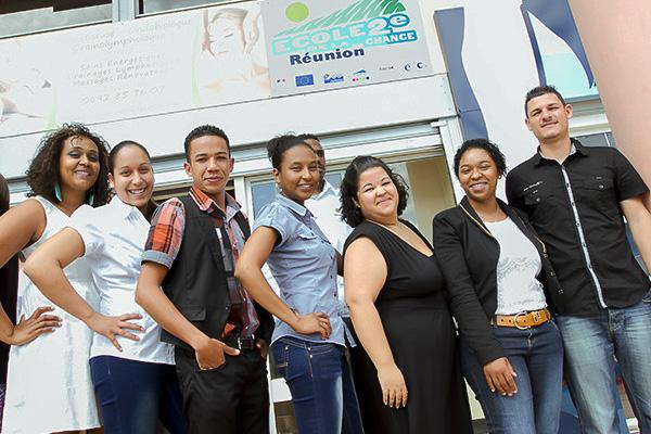Un nouveau départ à l' École de la Deuxième Chance de La Réunion