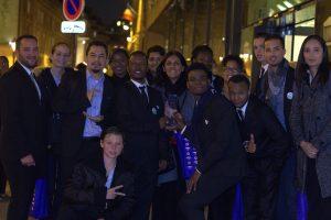 Les élèves de l'E2C Réunion à Paris