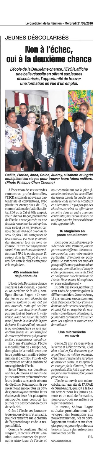 Article du JIR suite